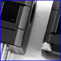 22-28mm Billet Aluminum Lenker Risers Kit Schwarz Universal Für Honda Ducati-B7