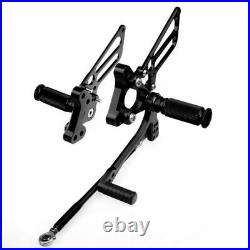 Adjustable Rearsets For Ducati 749 999 All Year CNC Billet Footpegs Rear Sets