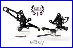 Billet Adjustable Rear Sets Rearsets Foot Peg Pedal Ducati Diavel