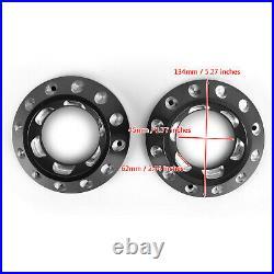 Billet Aluminum Black Exhaust End Caps Pair Fit for Ducati Scrambler 1100. A1