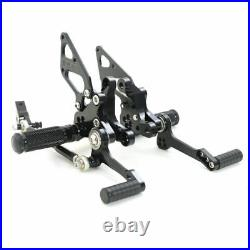 Billet CNC Adjustable Rearsets Rear Sets Foot pegs For Ducati 1098 1098 S 2008