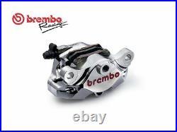 Brembo Rear Caliper Kit Cnc Nichel Ducati Hypermotard 1100 S 2007-2009