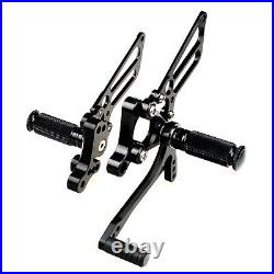 CNC Billet Adjustable Rearsets For Ducati 748 916 996 998 Footpegs Foot Pedal