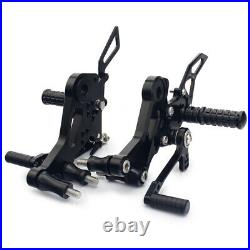 CNC Billet Alu Adjustable Rearsets Footpegs for Ducati Monster 796 2010-2014 13
