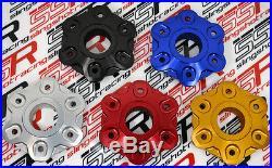 CNC Billet Aluminum Rear Sprocket Drive Flange Cover For Ducati 1098 1098S 1198