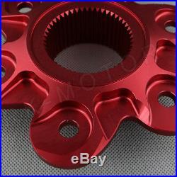 CNC Billet Aluminum Rear Sprocket Drive Flange Cover For Ducati 1098 1199 1299