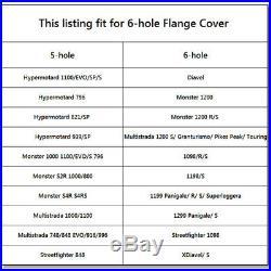 CNC Billet Aluminum Rear Sprocket Drive Flange Cover For Ducati 1198 S 2008-2012