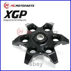 CNC Billet Black XGP Clutch Pressure Plate Fit Ducati 748 916 996 998 999 M900