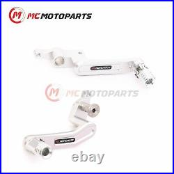 CNC Billet Gear Shift Lever Brake Pedal Set For Ducati 899 959 Panigale 1199