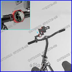 CNC Billet Noctilucent Handlebar Clock Bars Mount For Ducati 7/8-1 1/8 Custom