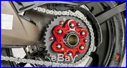 CNC Billet Rear Sprocket Drive Flange Cover For Ducati 1199 Panigale 2012-2014