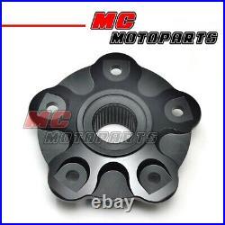 CNC Black Billet Rear Sprocket Hub Fit Ducati Hypermotard 1100 796