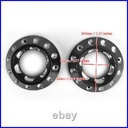 CNC Exhaust Bottom End Caps Black Fit for Ducati Scrambler 1100 Sport Special C3