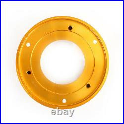 CNC Exhaust Bottom End Caps Gold Fit for Ducati Scrambler 1100 Sport Special N3