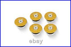 CNC Racing Ducati 748 916 996 998 Billet Aluminum Frame Plug Cap Covers Gold 5 p