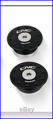 CNC Racing Ducati Monster 821 824 1200 Billet alloy Frame Plug Cap Cover Black