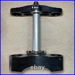 DUCATI 1098 1198 BILLET ALUMINUM TRIPLE TREE CLAMP NICHOLS 30 mm OFF SET