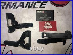 DUCATI 996 YOYODINE BILLET ALUMINUM REARSET PAIR +TITANIUM BOLTS +pedal+ shifter