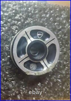 DUCATI Billet Aluminum Handlebar Balancing Weights (One Scratched Per Photos)