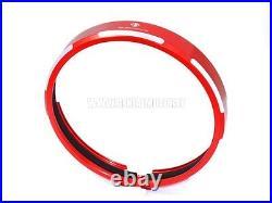 Ducabike Cfscra01a Scrambler Billet Aluminium Headlight Trim Red