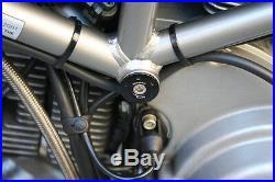 Ducati 749 999 Frame Plug Plugs Set CNC Billet Aluminum