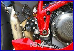 Ducati 848 / 848 Evo 2007-2013 Type 2 Sato Racing Rearsets Rear Sets Kit