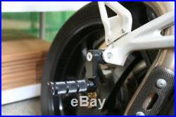 Ducati 899 1199 1299 959 Panigale Adjustable Billet Footpeg Footrest Rearset Kit