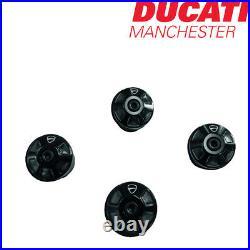 Ducati Billet Aluminium Frame Plugs Black for Monster 659 797 97380731A