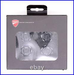 Ducati Billet Aluminum Frame Plugs for Multistrada 950, 1200, 1260 97380321B