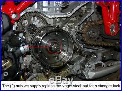 Ducati CNC Billet Aluminum Lighten Race Flywheel Multistrada 1000 1000DS 1000SDS