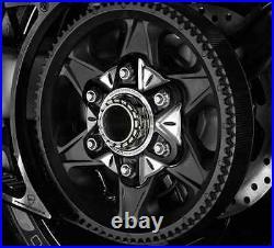 Ducati D-Diavel Rear Wheel Flange Black Alu Billet Aluminium