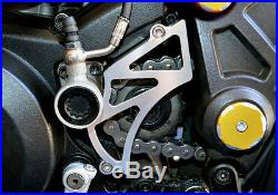 Ducati Diavel Cromo Amg Carbon M696 M796 M1100 Billet Front Chain Sprocket Cover