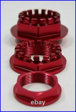 Ducati Front Rear Wheel Axle Nut 748 916 996 998 S4R S2R 769/1100 CNC Billet