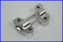 Ducati Monster 659 795 ABS Handlebar Bar 32mm Riser Silver CNC Billet Aluminum