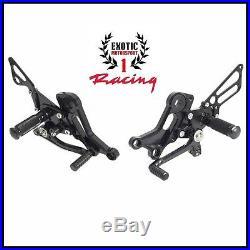 Ducati Monster 696 & 796 Billet Adjustable Rear Sets Foot Peg Pedal 2008-14