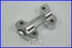 Ducati Monster 696 ABS 659 795 Handlebar Bar Riser Silver CNC Billet Aluminum
