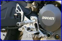 Ducati Monster 696 Sato Racing Rearsets Rear Sets