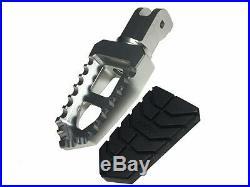 Ducati Multistrada 1200 Billet Adjustable Wide Pegs Pedals Footpegs Footrests
