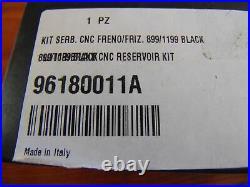 Ducati Panigale Billet Aluminium Brake Clutch Reservoirs Black 96180011A