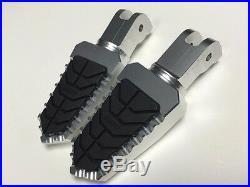 Ducati PaulSmart 1000 LE CNC Billet Adjustable Wide Pegs Pedal Footpeg Footrests