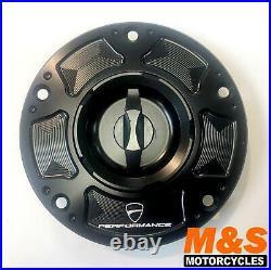 Ducati Performance Billet Aluminium Tank Cap 899 959 1199 1299 Part 96900712A