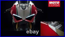 Ducati Performance Billet Mirror Block-Off Plates for Ducati Panigale V4'18-'19