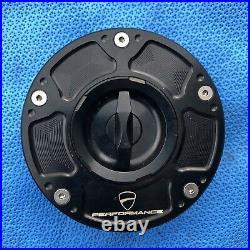 Ducati Performance Panigale 1199 1299 899 959 Fuel Cap Billet Aluminum