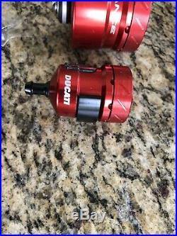 Ducati Performance Superbike Billet Aluminum Brake & Clutch Reservoirs 96180031A