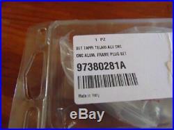Ducati Scrambler Billet Aluminum Frame Plugs Oem 97380281a