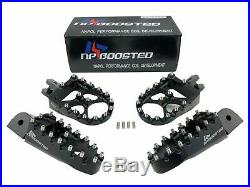 Ducati Scrambler Billet Aluminum Front & Rear Foot Pegs Footpegs Footrest Pedals