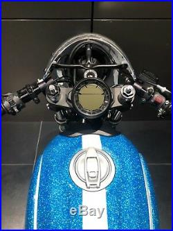 Ducati Scrambler Sixty2 62 CNC Billet Aluminum Preload Adjusters For Showa Forks
