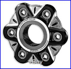 Ducati X-Diavel Hinterrad Flansch Schwarz Alu rear wheel flange billet aluminium