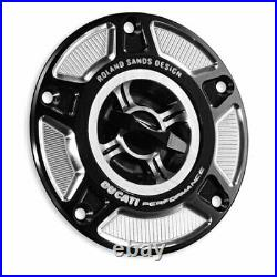 Ducati XDiavel Billet Aluminum Tank Filler Plug 97780021A by Roland Sands/Ducati