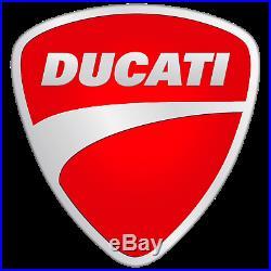 Ducati by Rizoma V4 Billet Aluminum Handlebar Ends Red 97380861AB